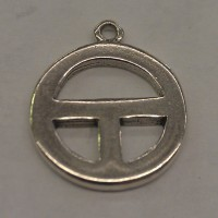 809 - Sterling Silver - Medicine Man Totem/Charm (Package of 10)