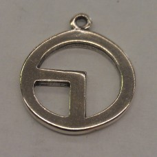 808 - Sterling Silver - Sachem Totem/Charm (Package of 10)