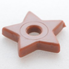 107 Brown Star (package of 100)