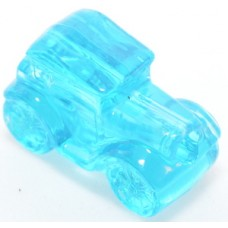 114 - Clear Blue Car (Package of 10)