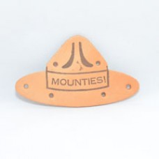 584 (#225) - Campaign Hat Neckerchief Slide