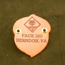 537 - Acorn Neckerchief Slide